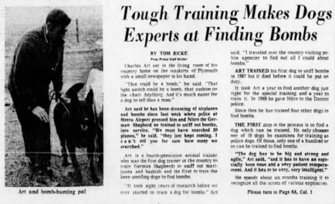 Detroit Free Press , Sunday, March 12, 1972
