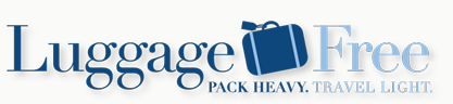 Luggage Free is a specialty service offering travelers the option to send luggage ahead to nearly any destination worldwide, avoiding the inconvenience of carrying, checking and claiming bags – even through customs. Door-to-door service is available throughout the US as well as to over 120 countries worldwide. Now you really can pack heavy and travel light.  Click on the logo above for more information or to receive a quote.
