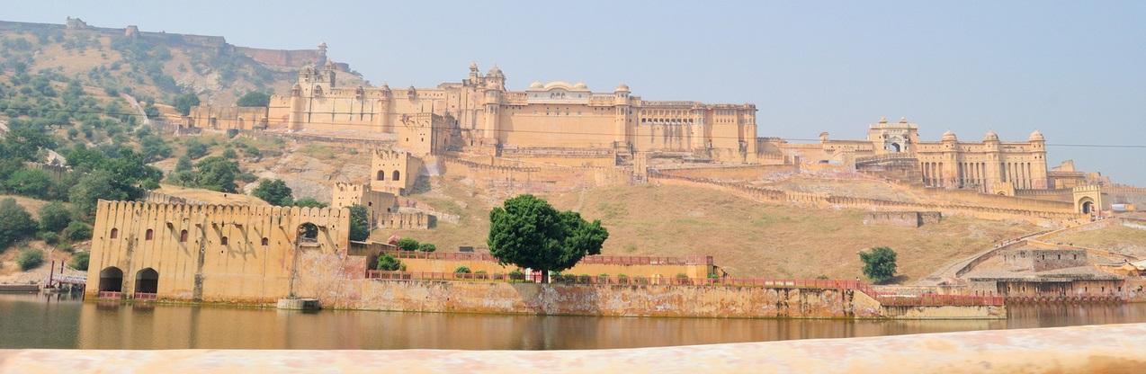 Amer Fort outside Jaipur, India