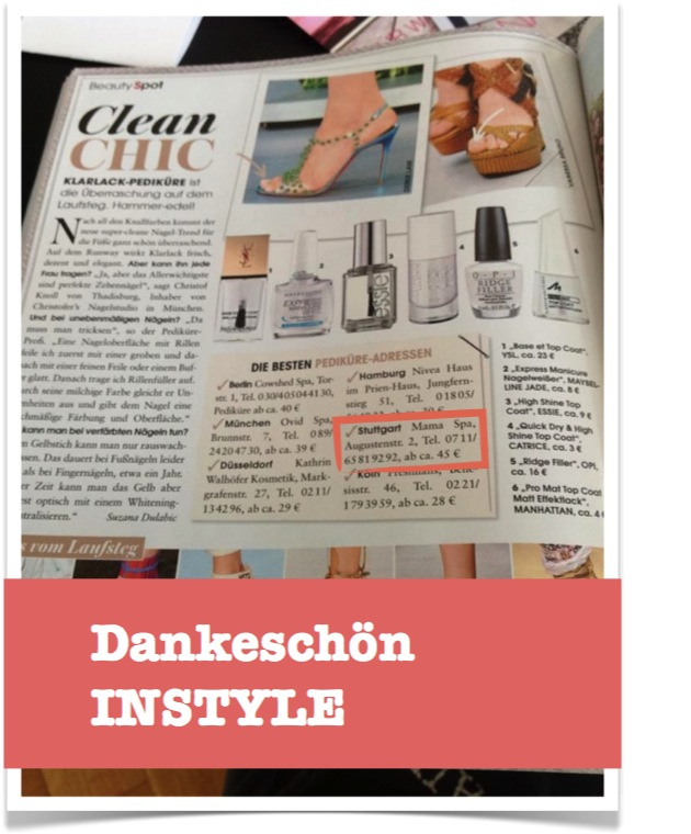 MAMA SPA in der instyle