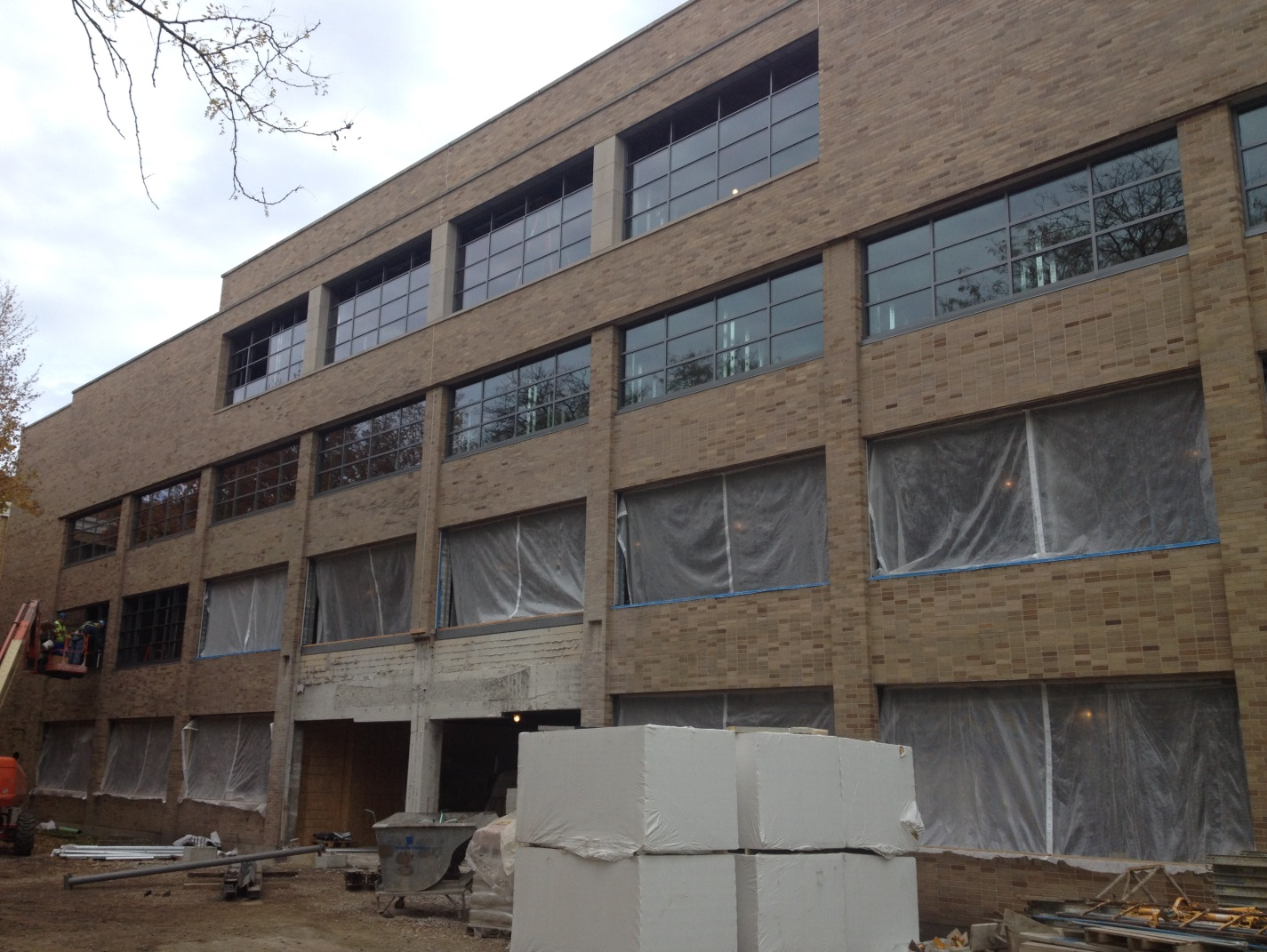 Window Installation Continues on South Elevation.jpg