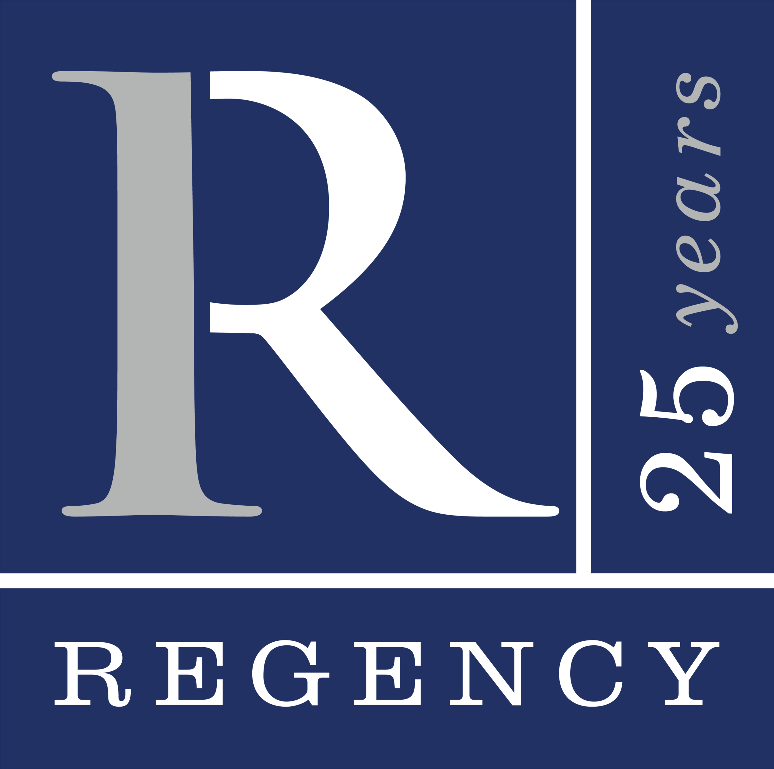 Regency 25th Logo.png