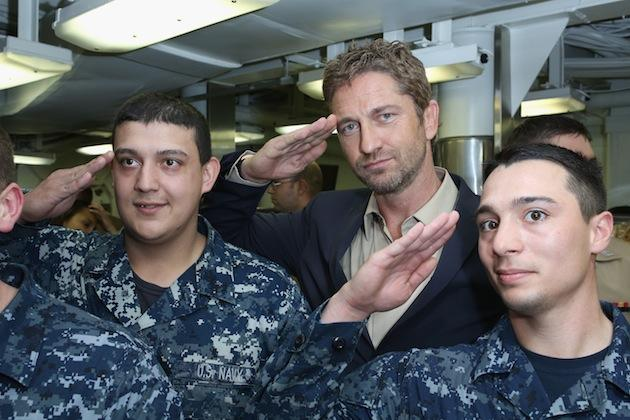 MensFitness.com:     Man Up With Gerard Butler