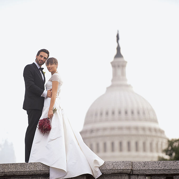 Brides Magazine:     From Washington, D.C. to Brussels: 7 Cities That Are Surprisingly Romantic