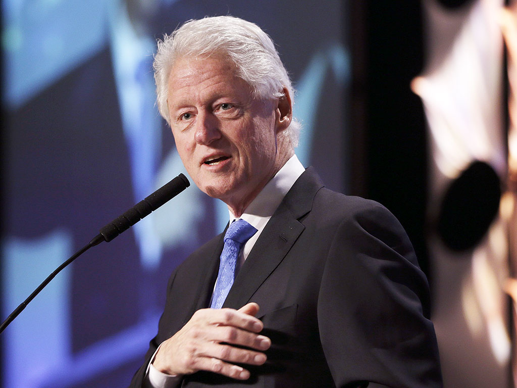 People Magazine:  Bill Clinton Talks About Big Plans for His Granddaughter atSports IllustratedSportsman of the Year Awards