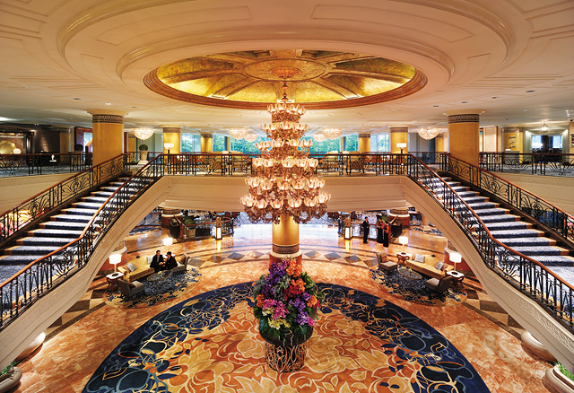 Afar:   10 Of The Most Extravagant Hotel Lobbies in the World