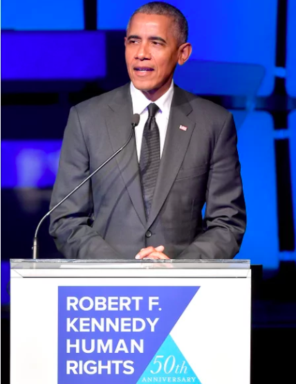 People Magazine: Barack Obama Slams Those 'Making Up Whatever Facts They Want' in RFK Human Rights Award Speech