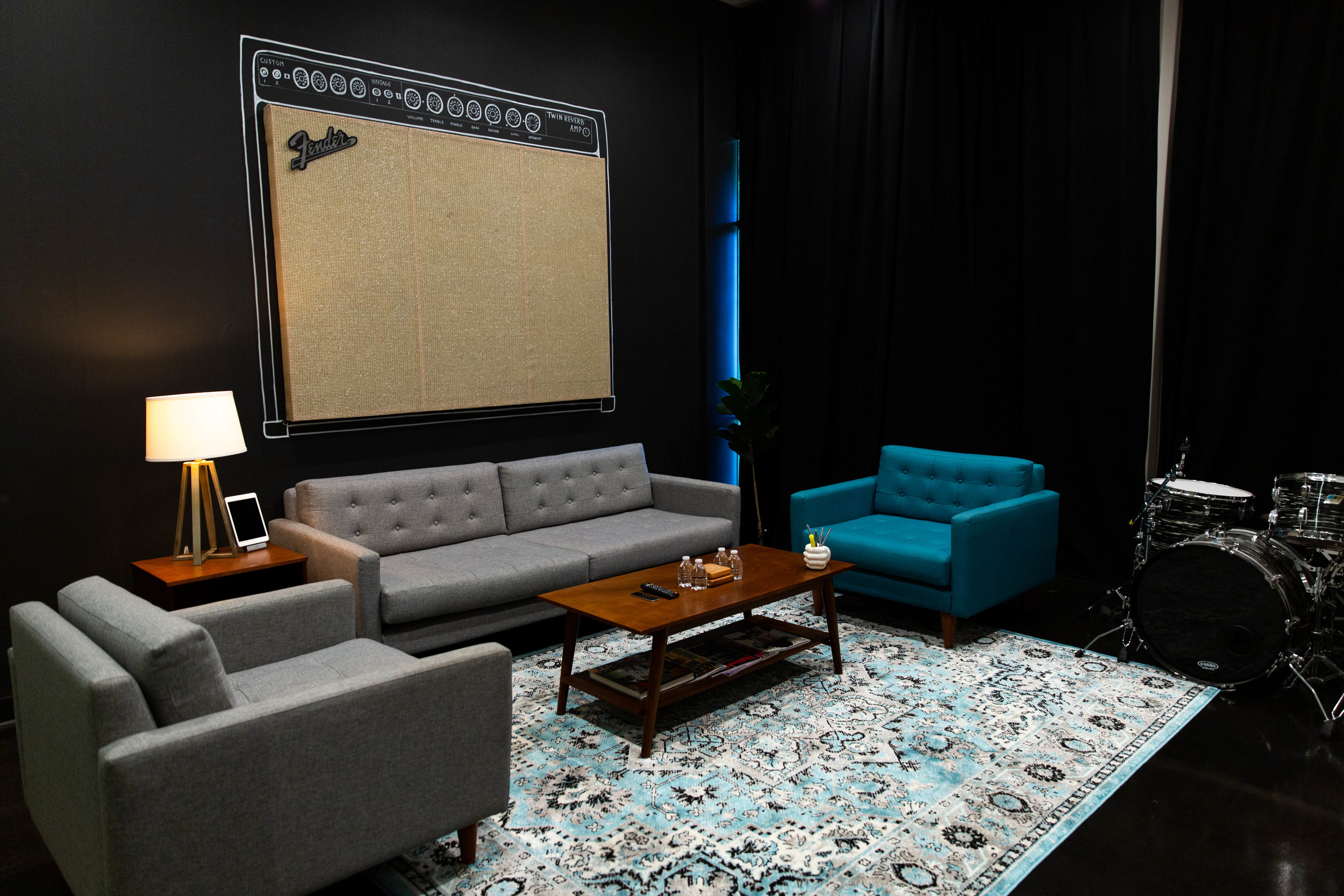 The Amp Rooms -