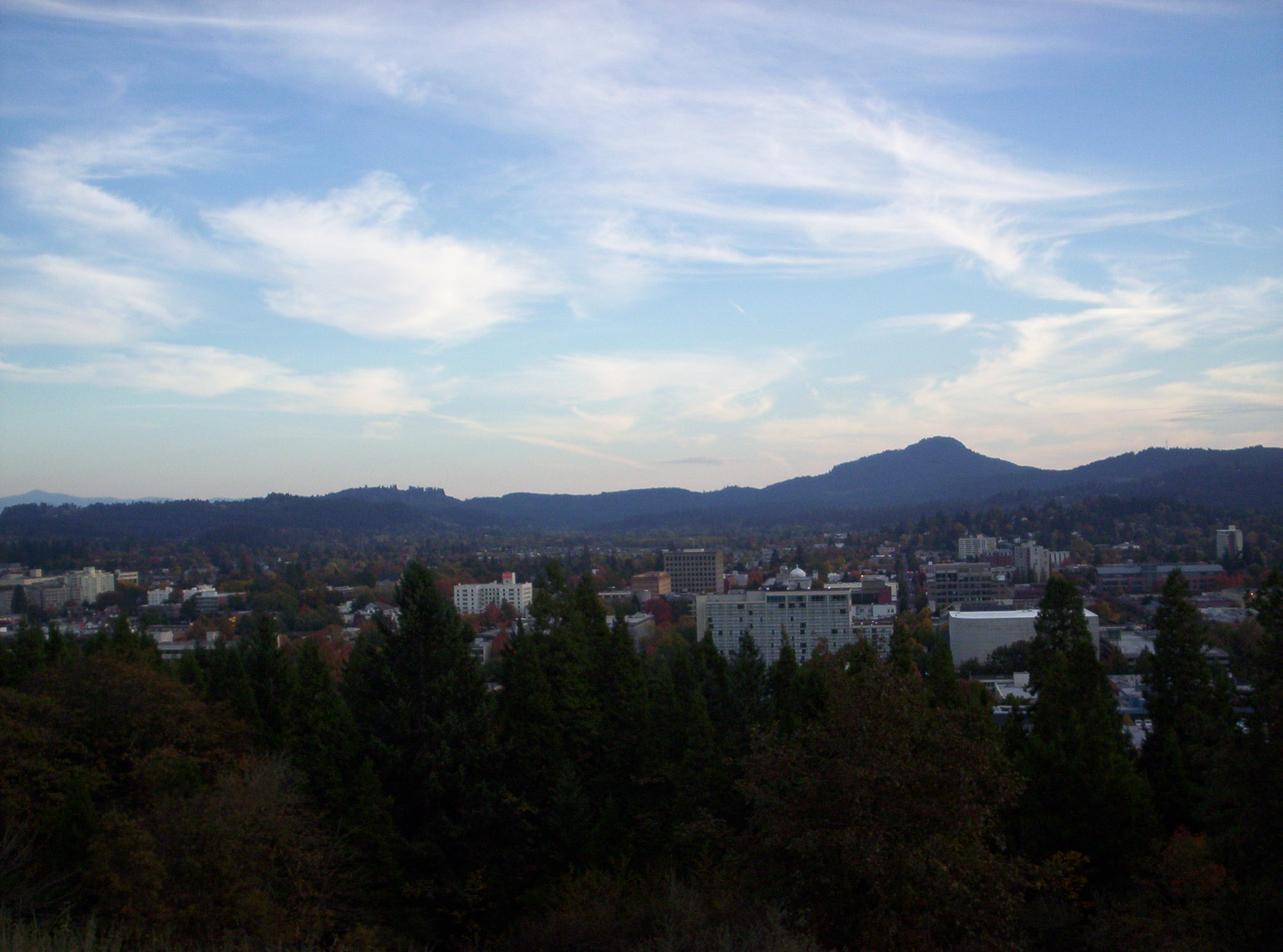 Eugene: the perfect balance of wild beauty and interesting town. At least to my taste.