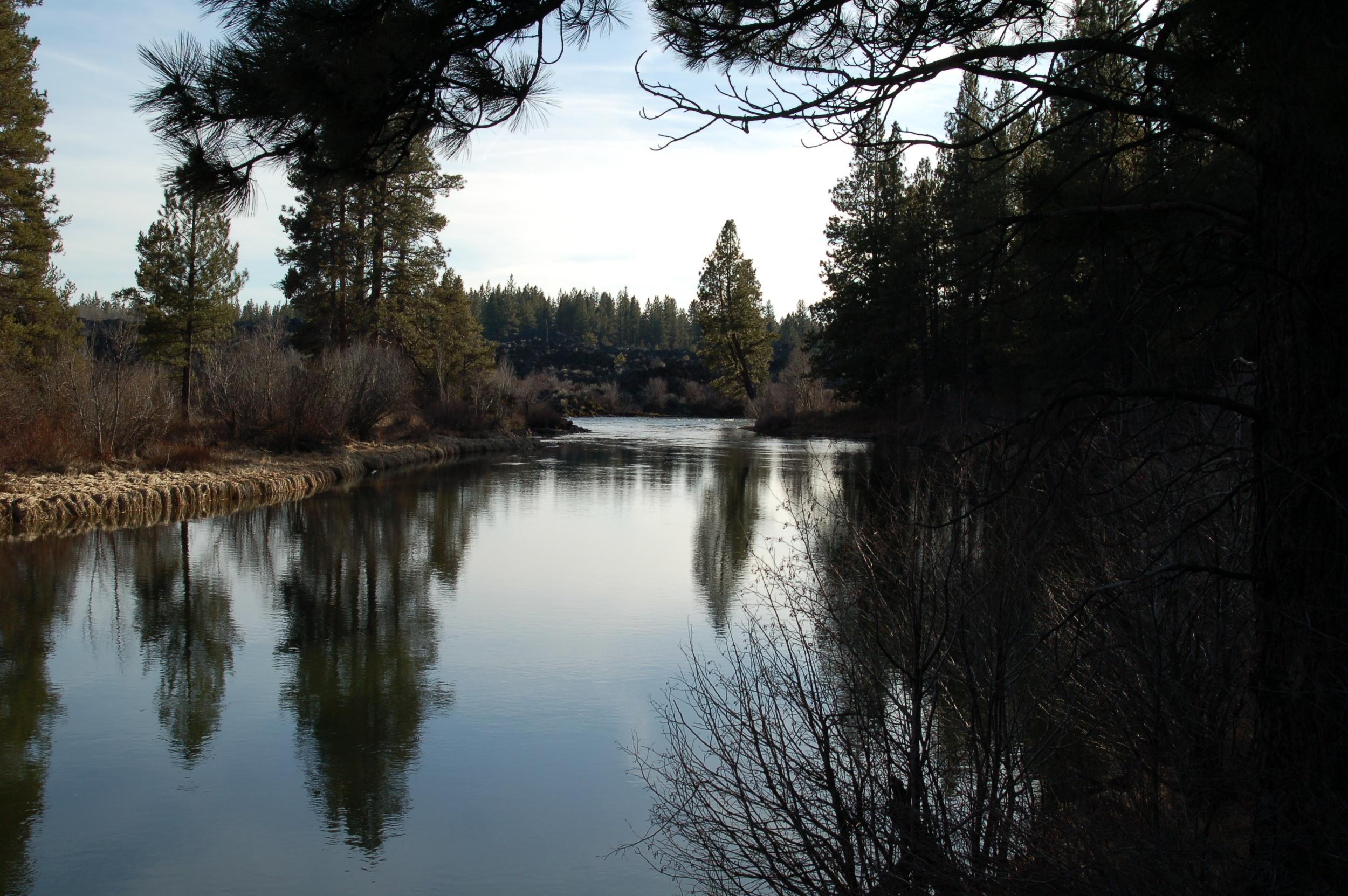 River in Bend, Oregon, one of my favorite spring break adventures
