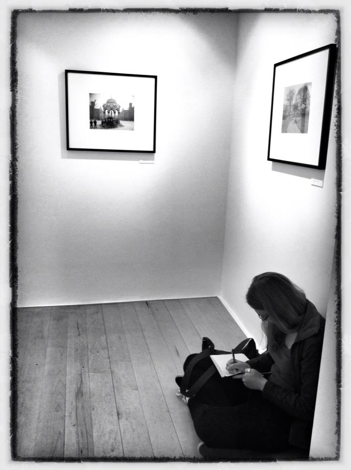 Journaling in a photo gallery