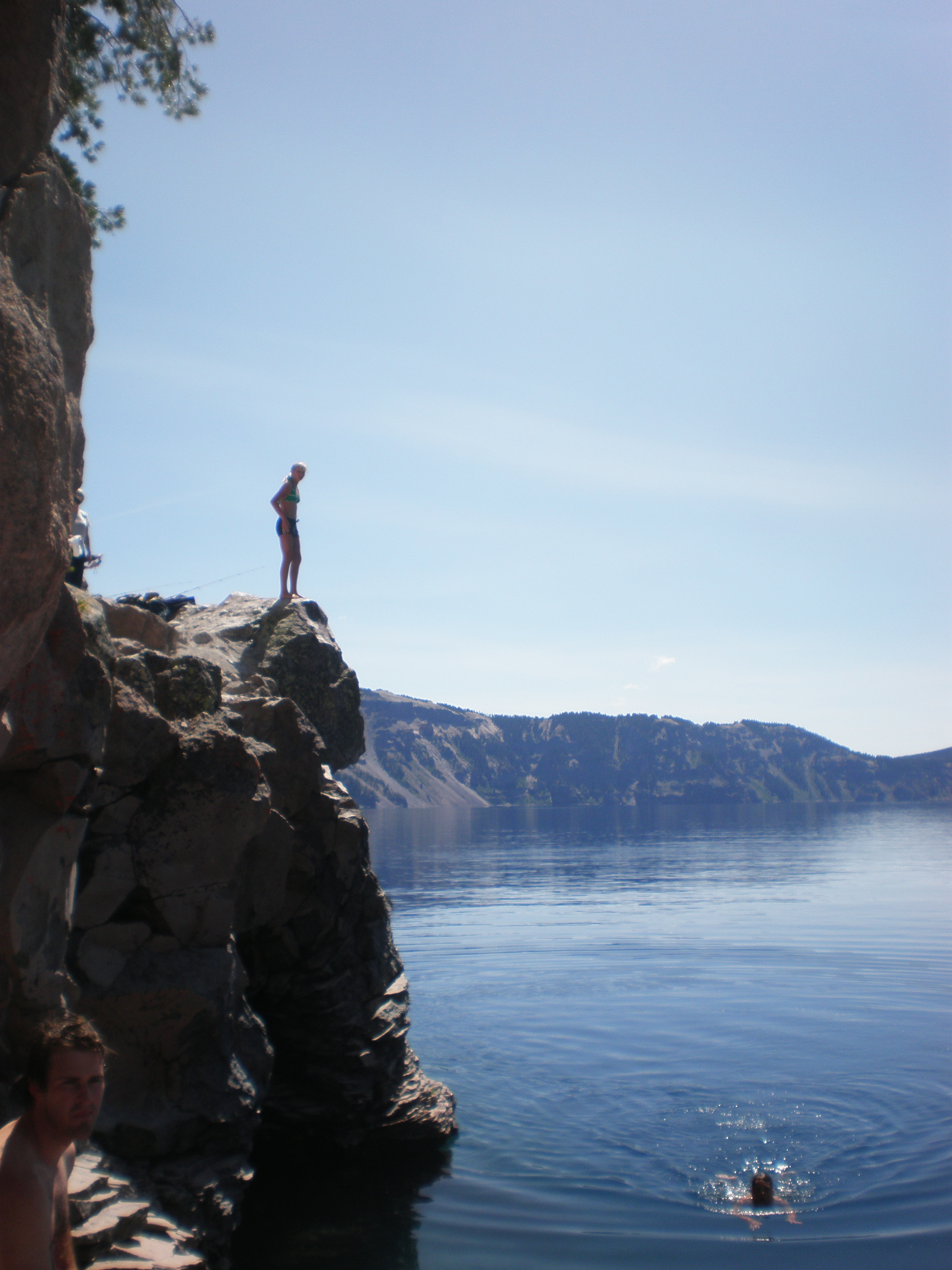 Pondering the near future at Crater Lake