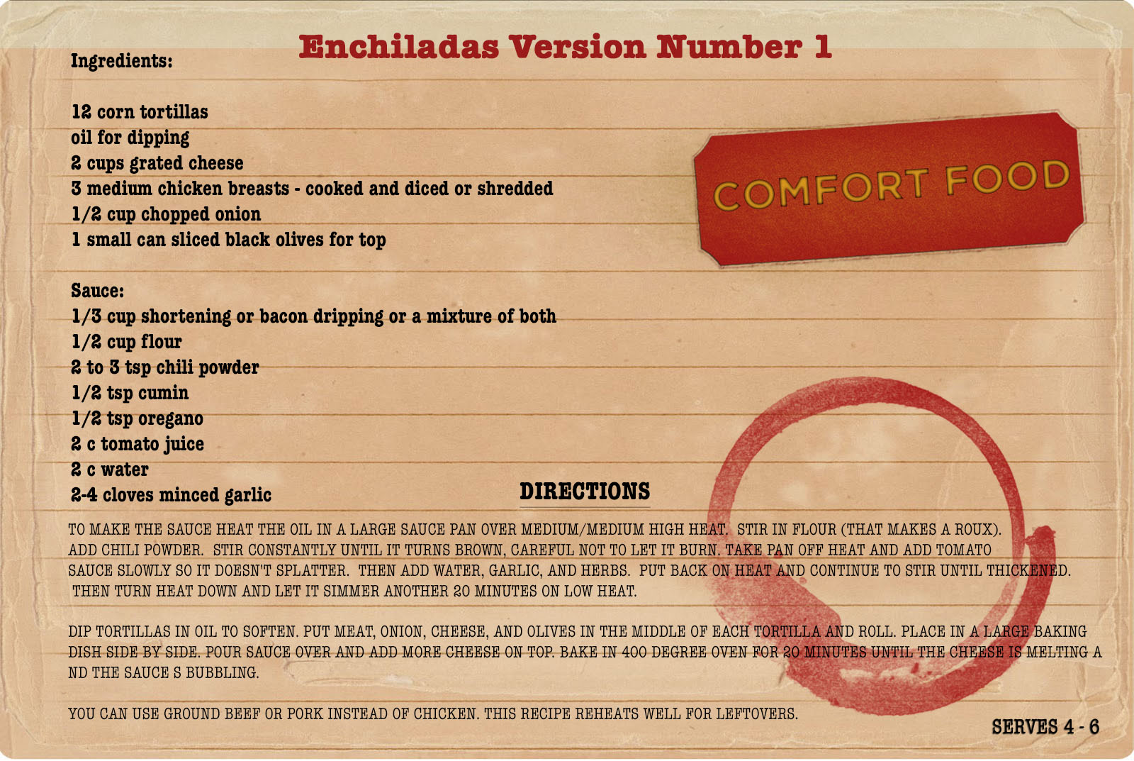 Comfort Food Recipe Enchiladas Version 1.jpg