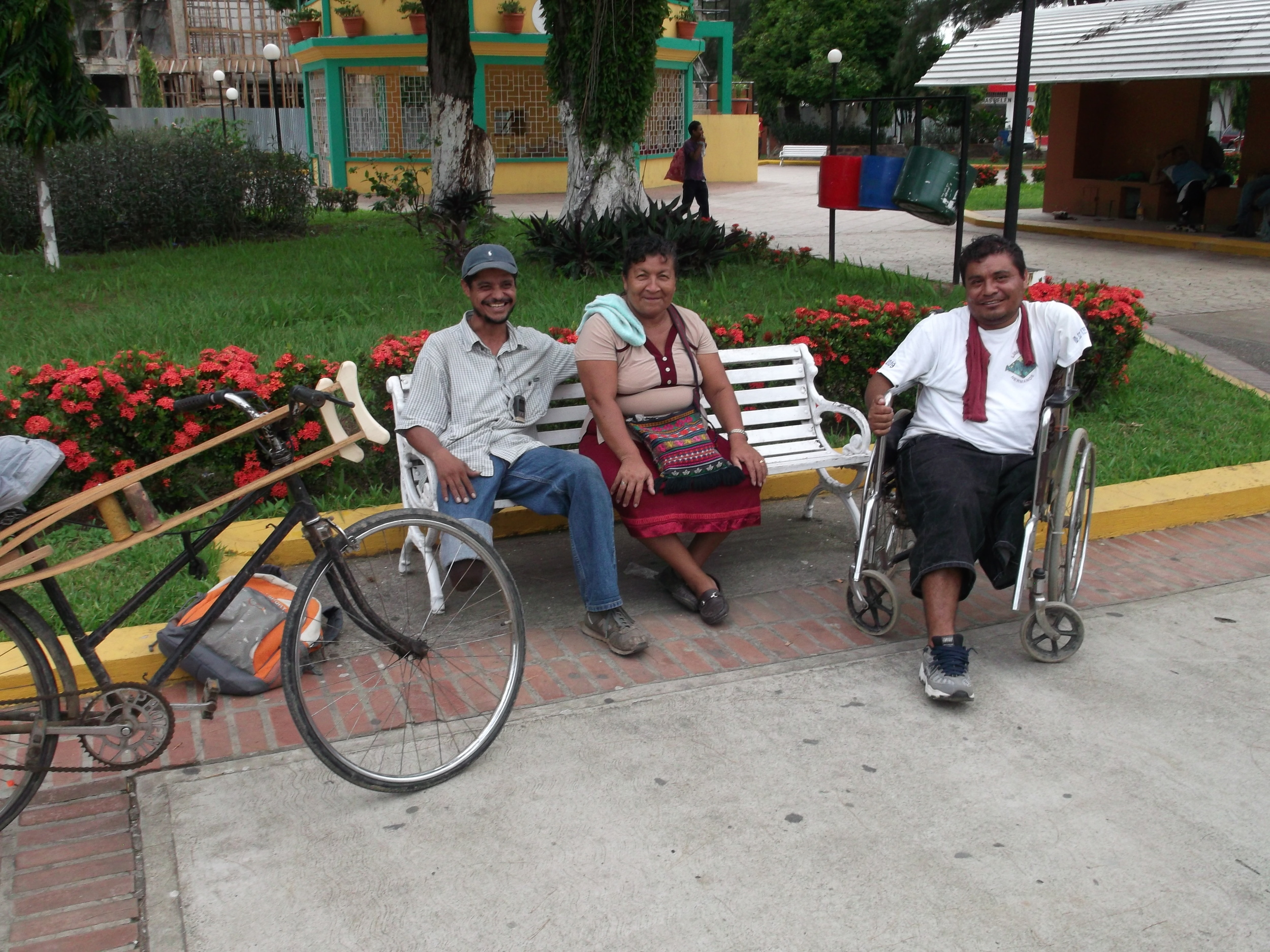 Three incredible people I met while doing research on migration issues in Honduras (Summer 2011)