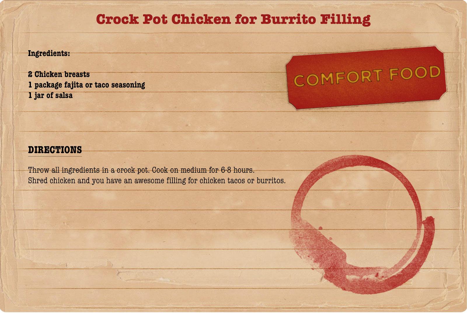 Easy Chicken Burrito Recipe