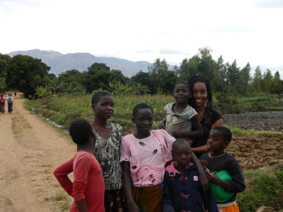 Destenie Nock in Malawi