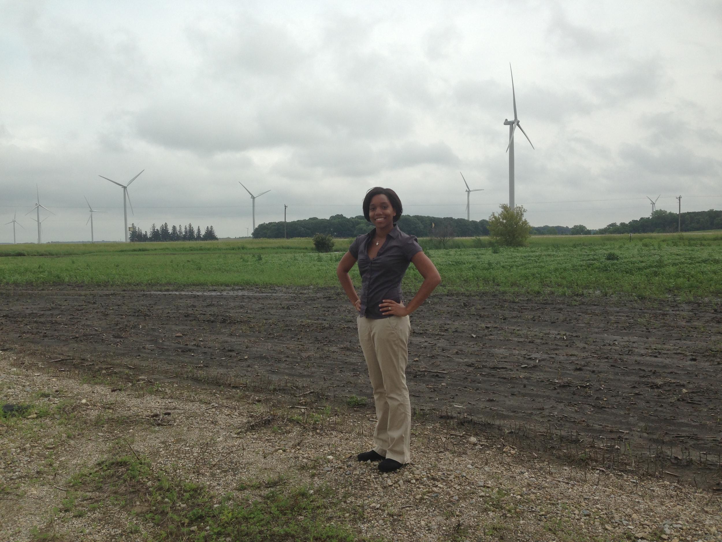 Destenie Nock Wind Power