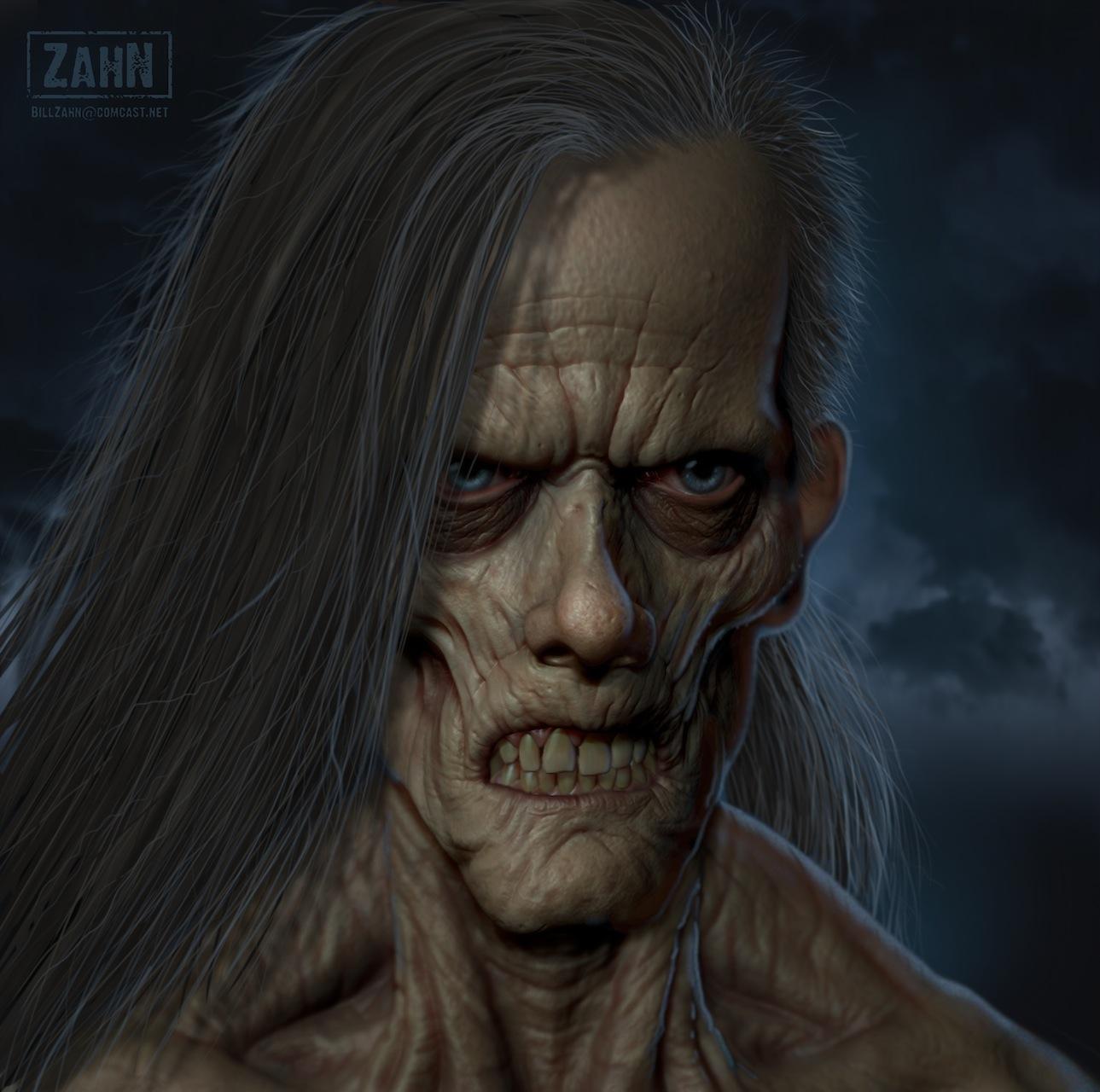 The Creature, by Bill Zahn