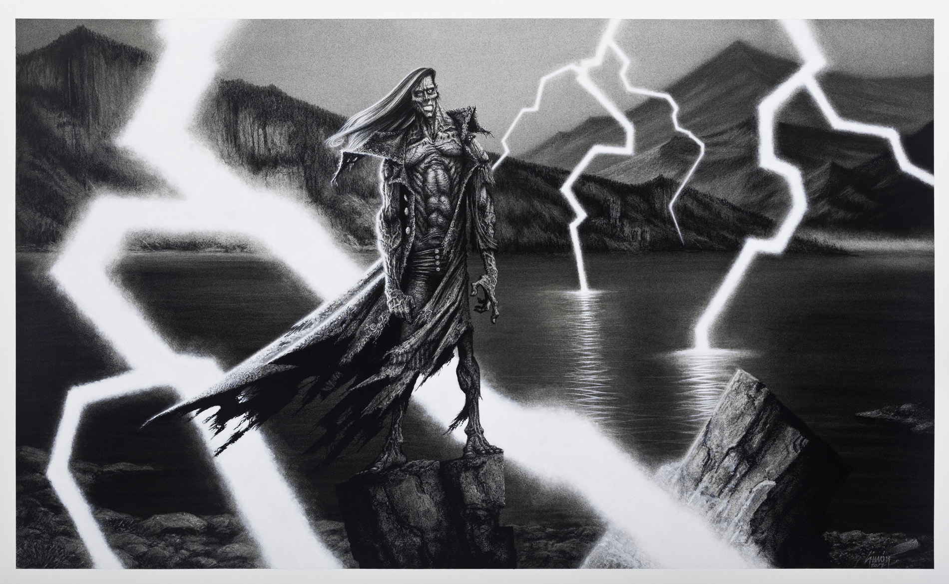 The Creature, by Simón Varela