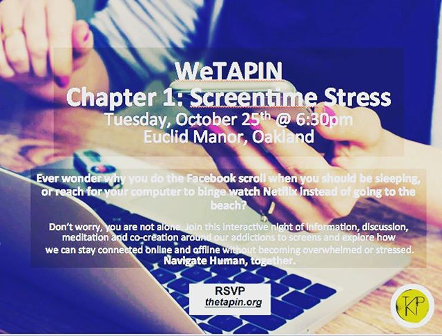 Chapter 1 begins with the exploration of screens - our needs, addictions and how we can navigate our on and offline life. Going to be juicy! #wetapin #screentimestress #navigatehuman