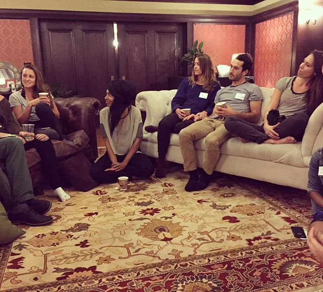 Last nights WeTAPIN Chapter 1 gathering spurred some incredible friendships and insight on how we can cultivate a healthier relationship with our screens. Collaborative sharing + self- reflection + group meditation + co-creating solutions = Magic of navigating human together! #wetapin #screentimestress #gathering #oakland