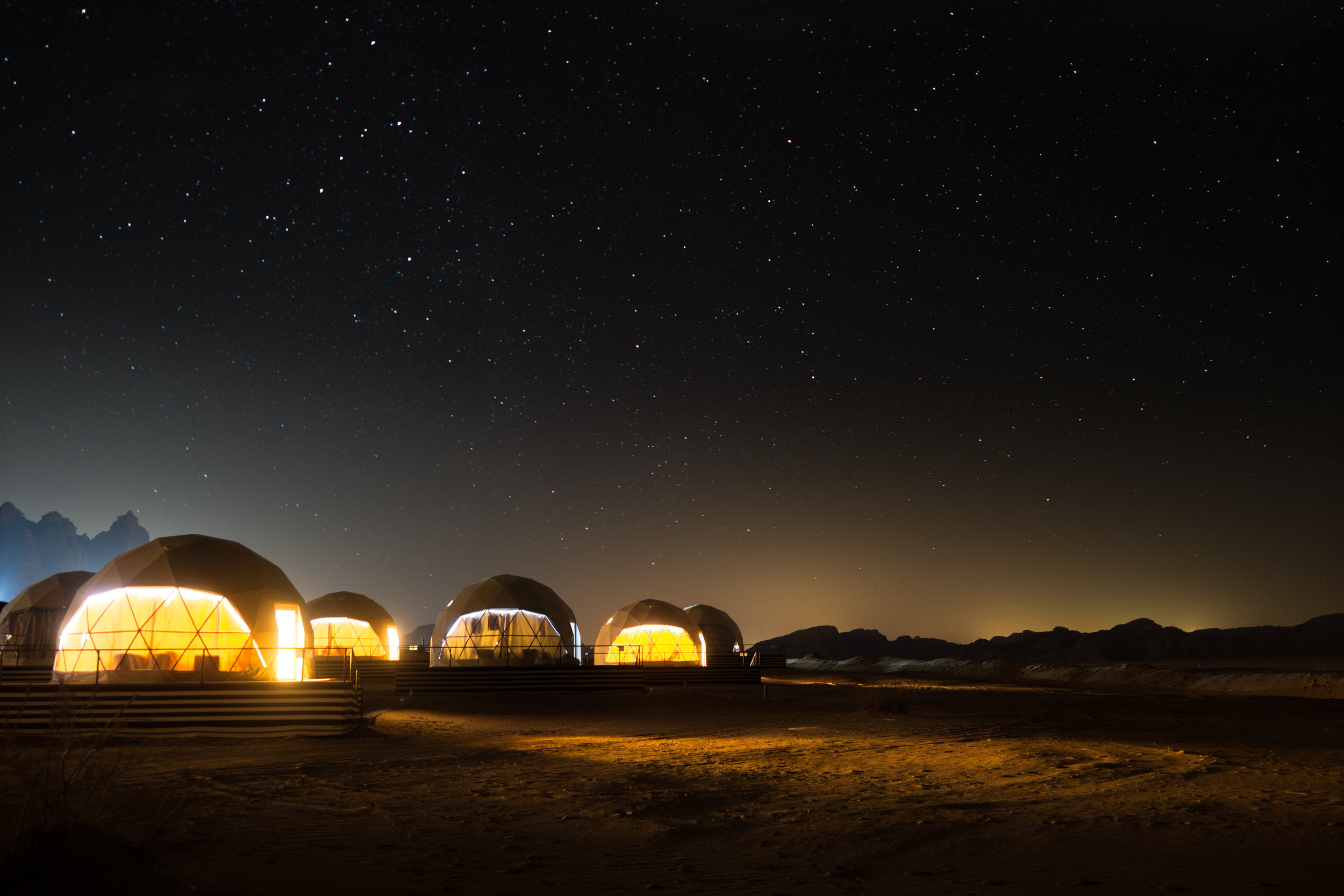 Sun City Camp, Wadi Rum, Jordan, Feb. 2018