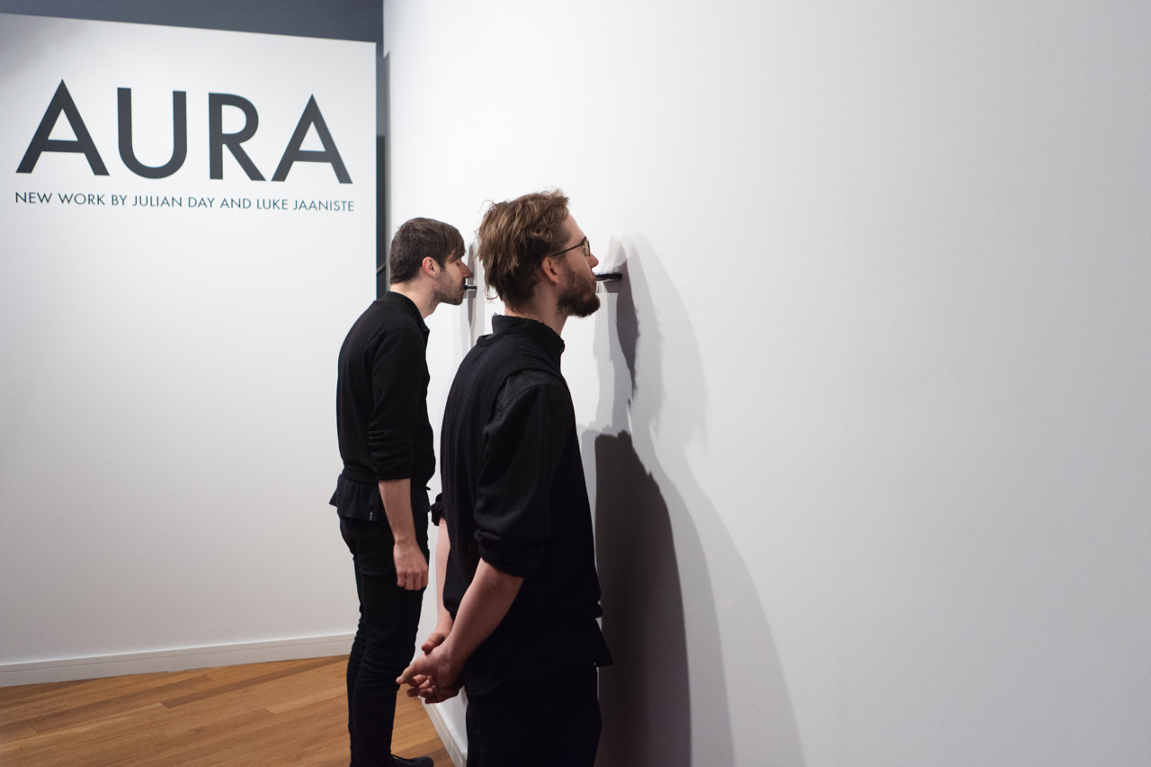 Voxx Boxx (with Luke Jaaniste),2012  Blacktown Arts Centre, Sydney  image: Paul Green