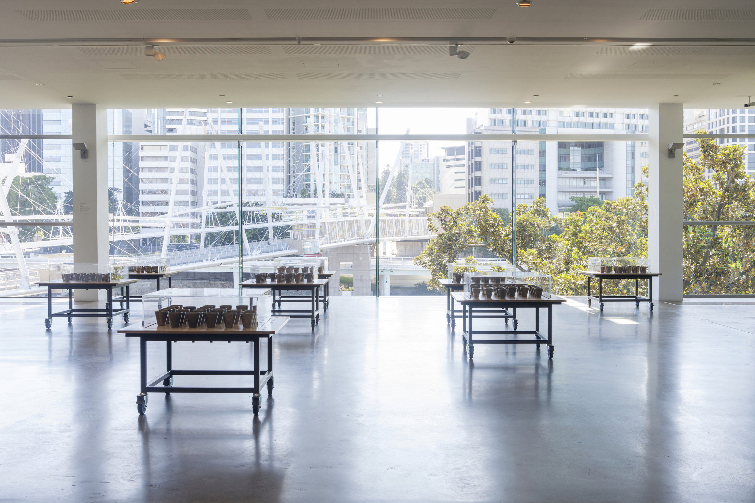 Open Plans: Coordinating Space  Queensland Art Gallery of Modern Art, Brisbane