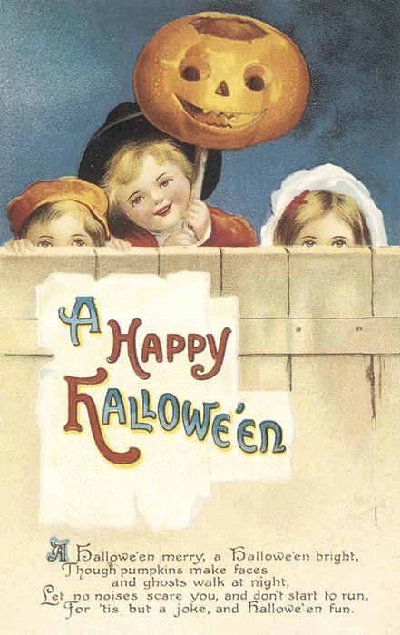 Nostalgic Happy Halloween Card