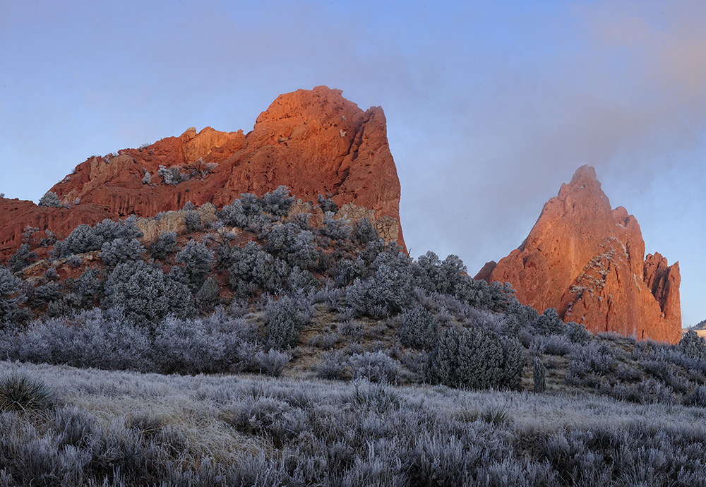 ©Doug Bennett Photography - Garden of the Gods First Light
