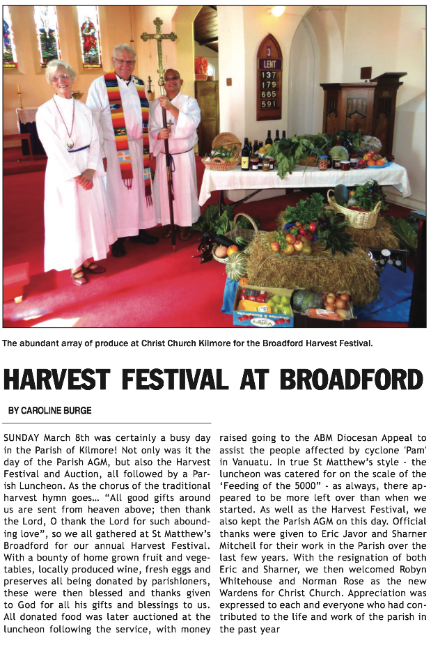 April 2015 - Anglican Advocate