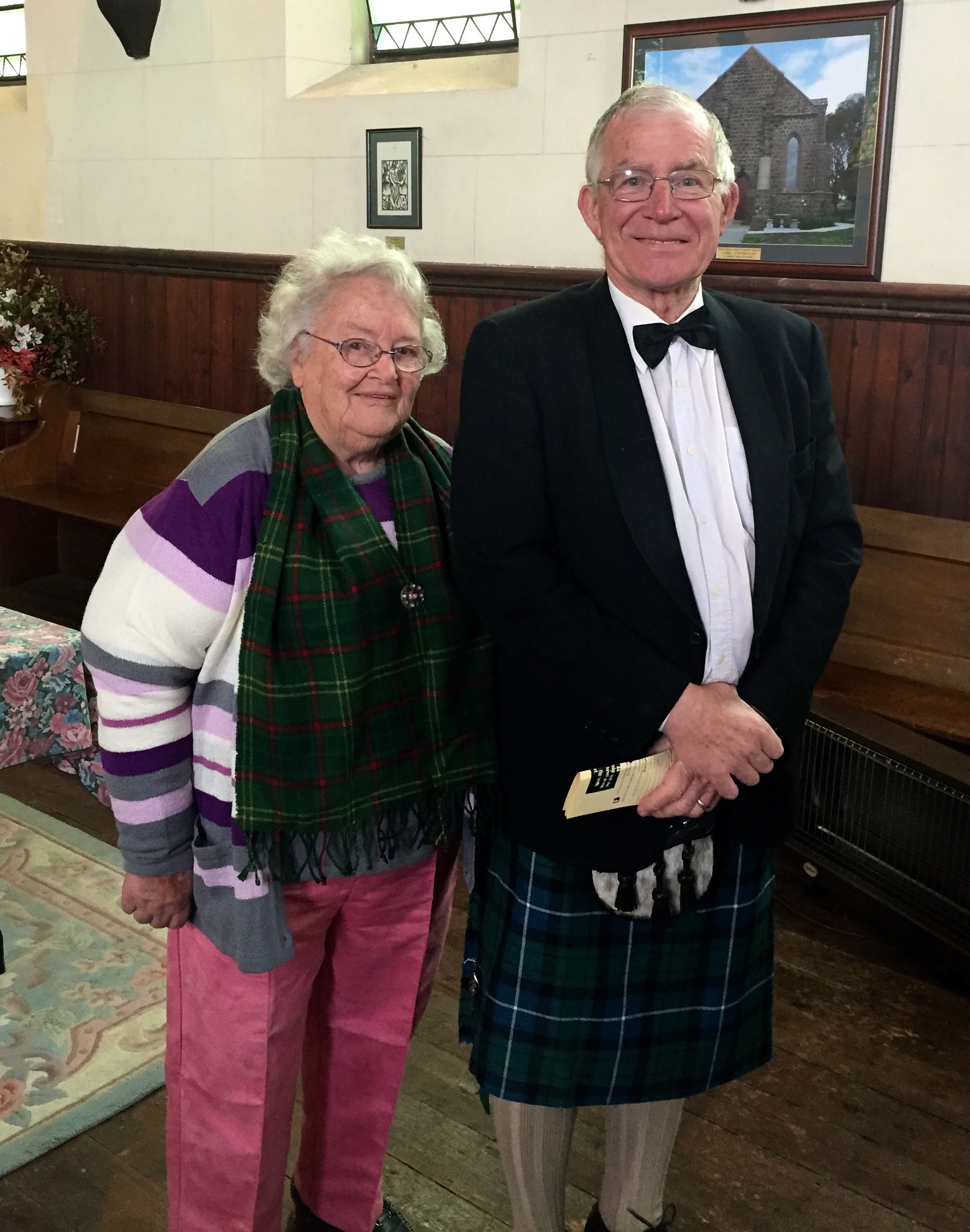 Ken and Peg Raeburn - Kilmore Celtic Festival Mass