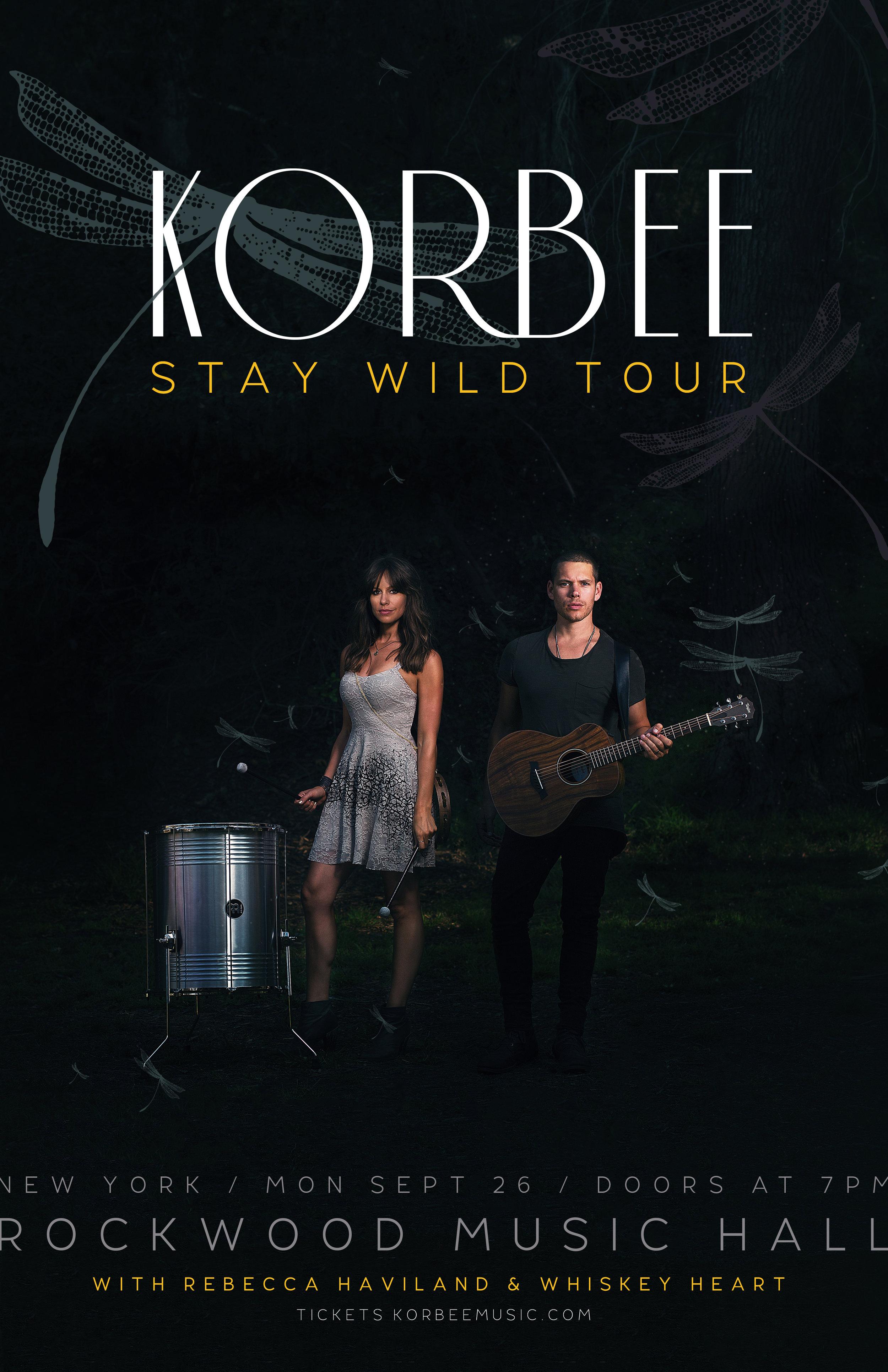 Korbee - Stay Wild Tour - 11 x 17 Poster - New York - Final.jpg