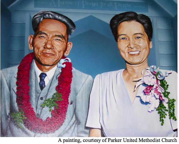 Rev. Chinpei Peter Goto and Mrs. Umeno Goto