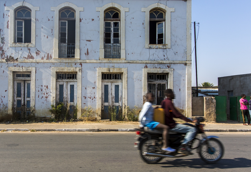 Strong lines from the Portuguese era, totally abandoned and overgrown.  Chibia, Huila Provence  ©24Atlantic