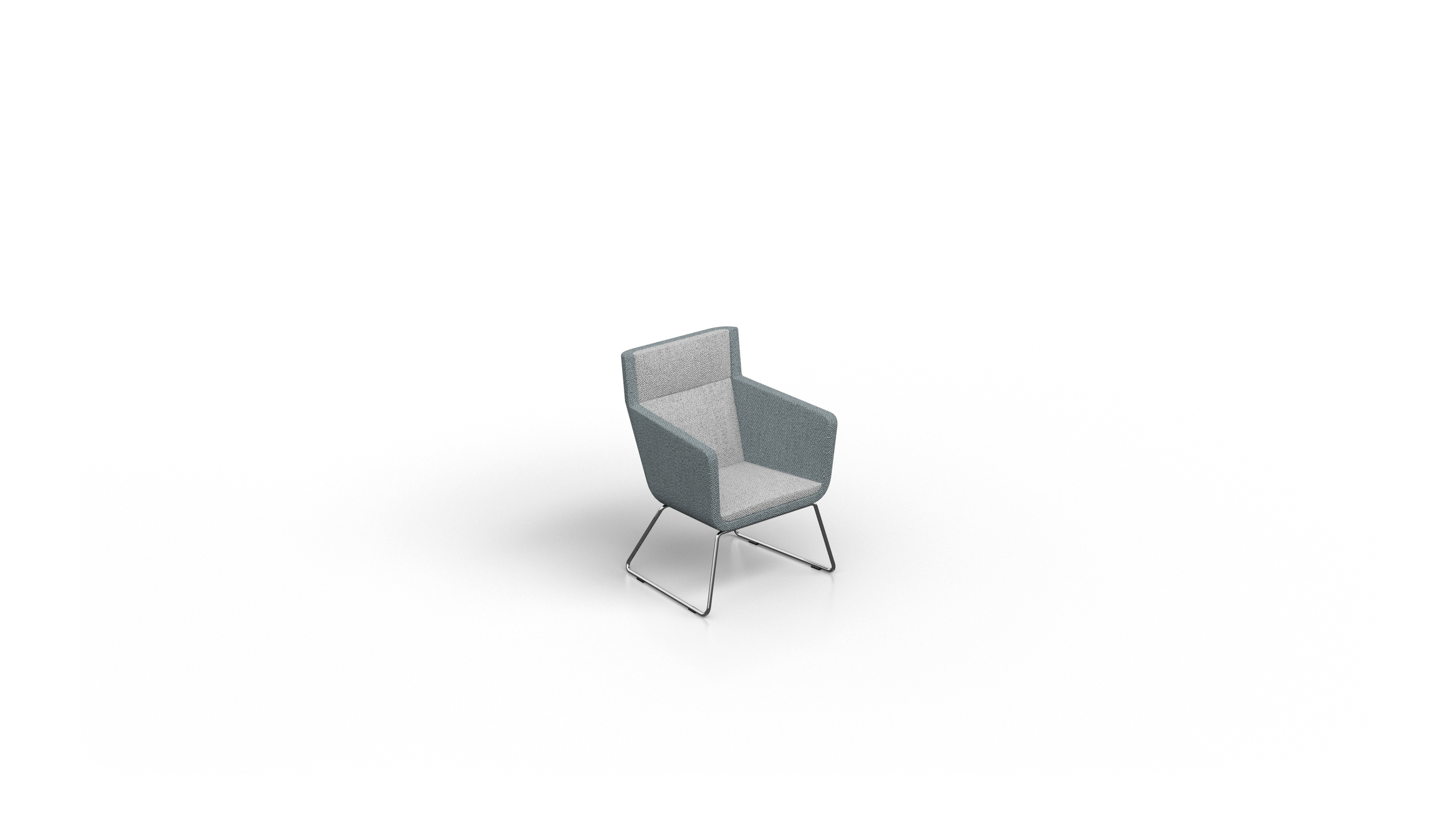 0162 CUBE XL VISITOR CHAIR