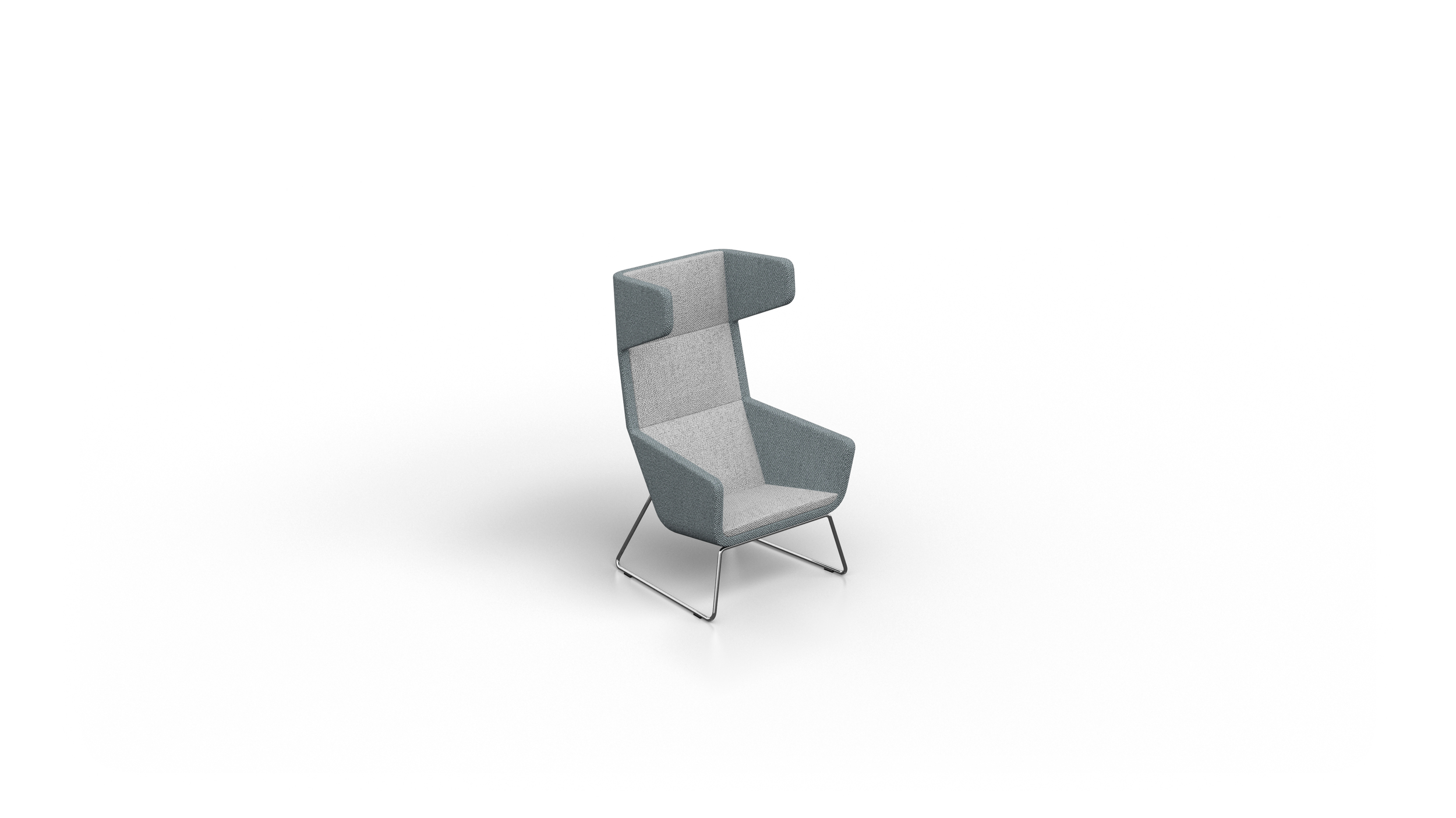 0166 SHELTER ACOUSTIC CHAIR