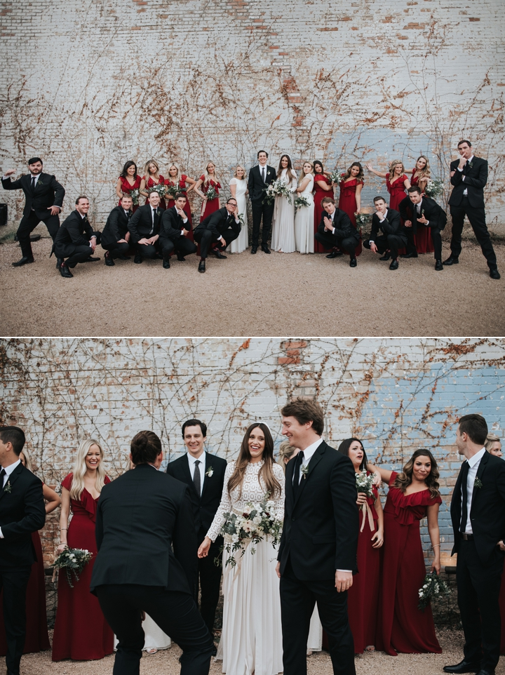 fort worth weddings the brik venue