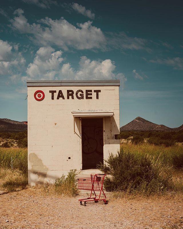 Tiny Target Marathon TX ♥️ #tinytarget #marathontx #west
