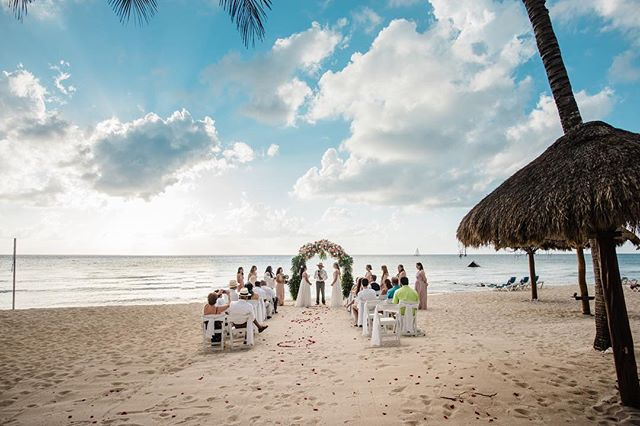 Aryn + Arisela in Mexico #lovewins #beachwedding