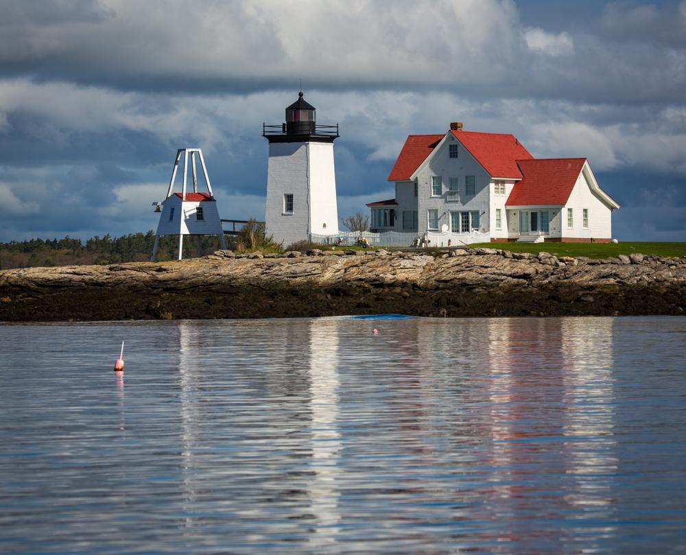 Hendricks Head Light. Southport, Maine