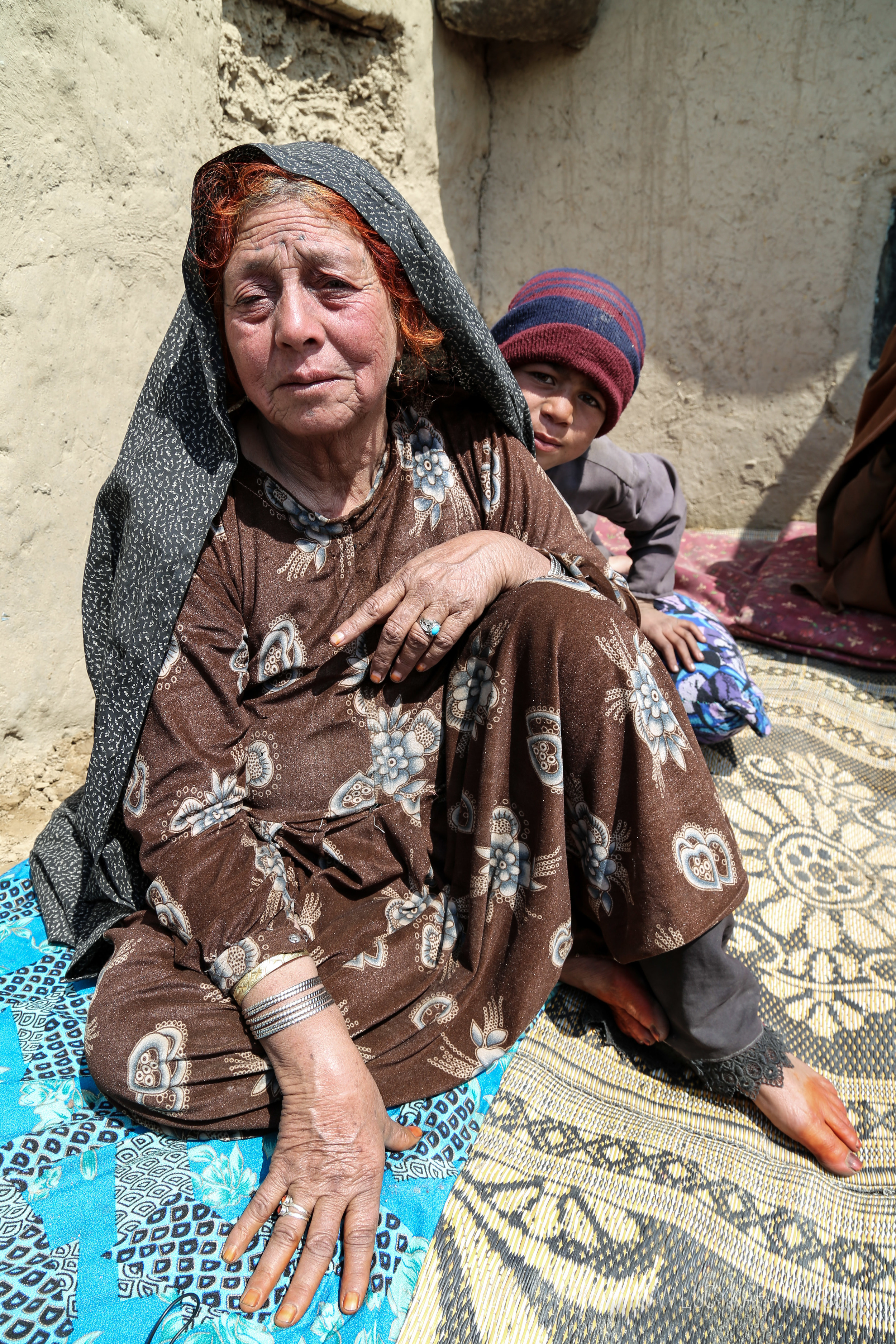 Aysha Bibi lived through many of Afghanistan's horrors: the Soviet invasion, civil war, and the Taliban. But three years ago she says that an air strike nearly wiped out her entire family. Three generations, under one roof, now gone.