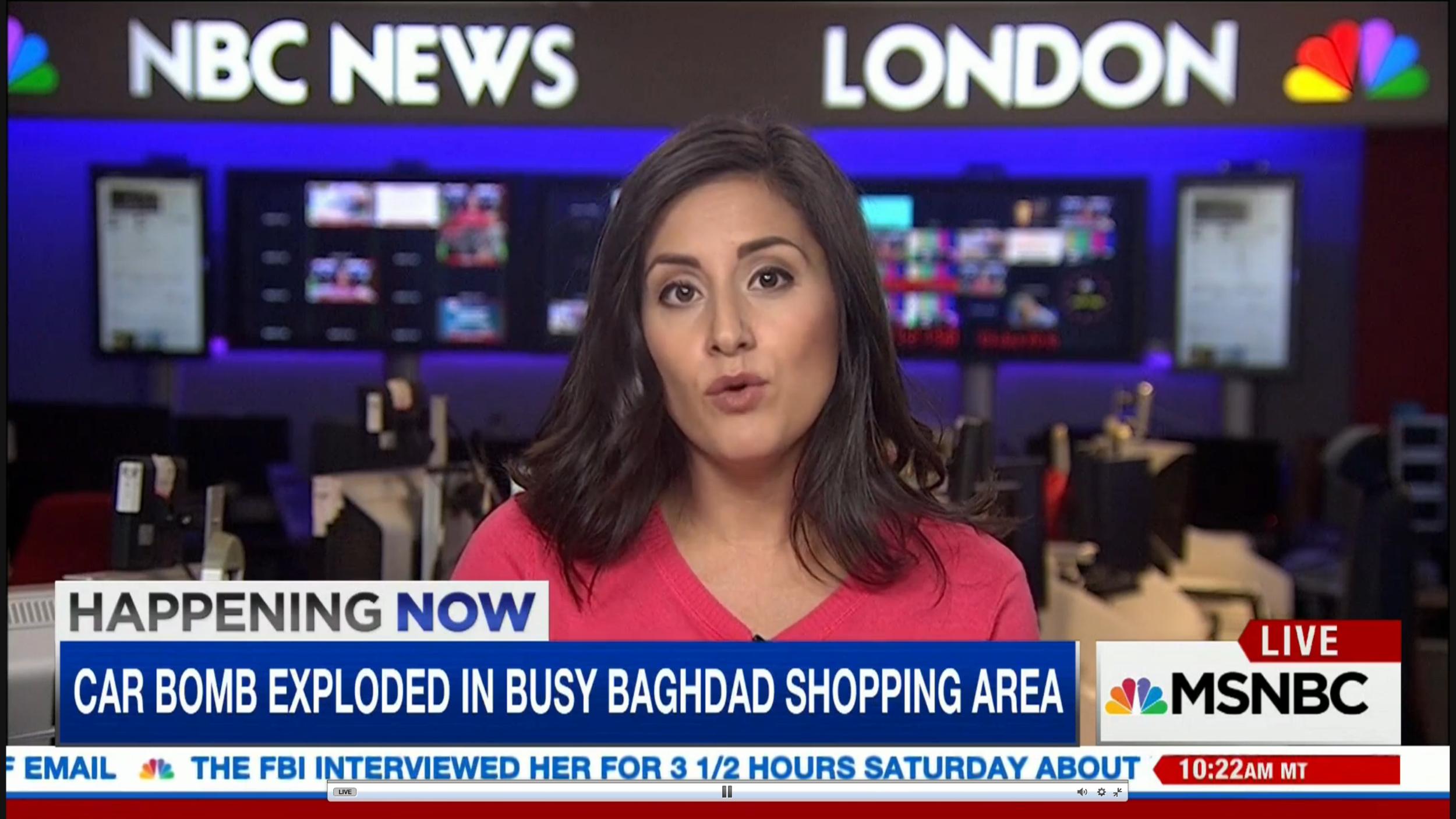 Lucy Kafanov NBC News Foreign Correspondent MSNBC News RT Journalist wiki