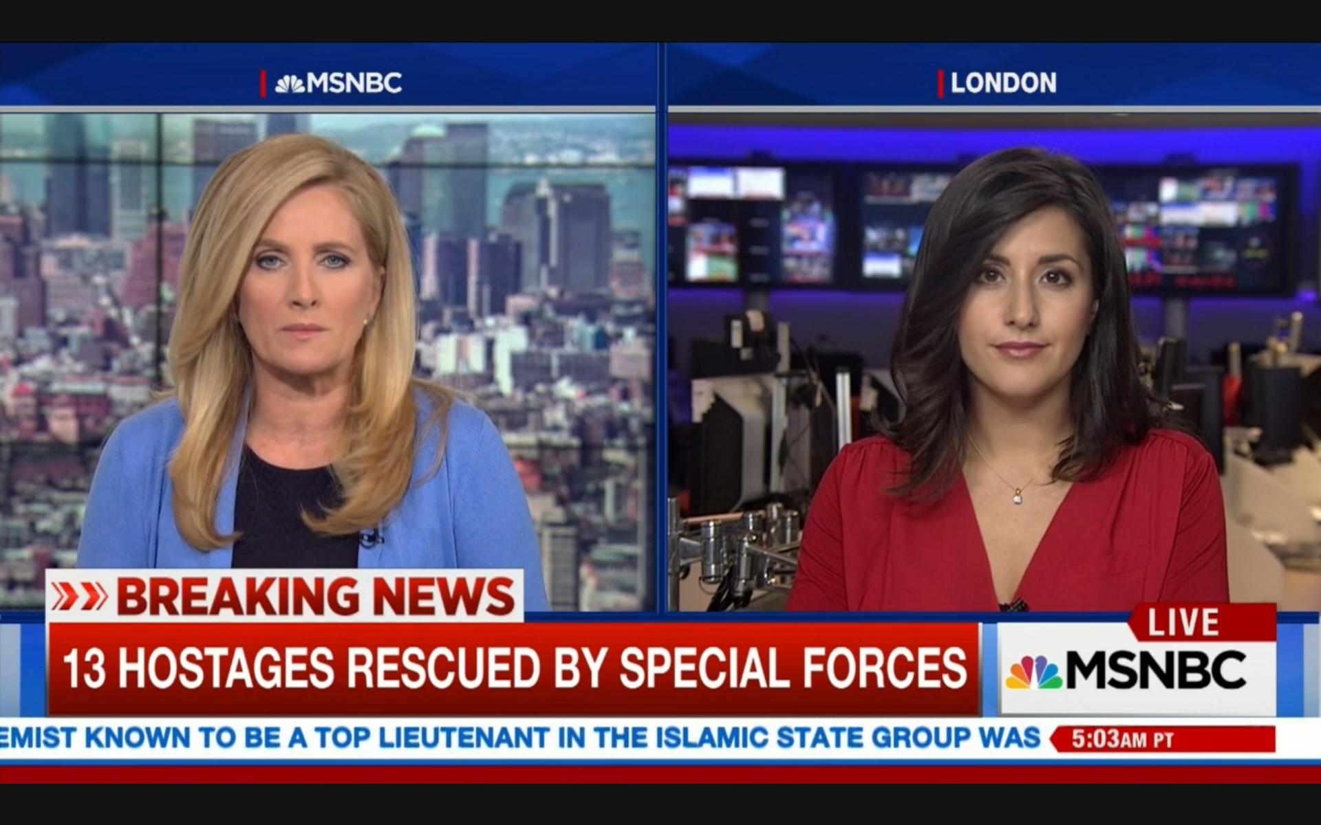 Lucy Kafanov NBC News Foreign Correspondent MSNBC News