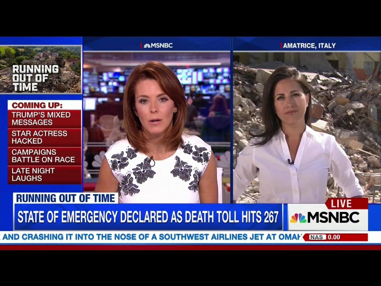 Lucy Kafanov NBC News Foreign Correspondent