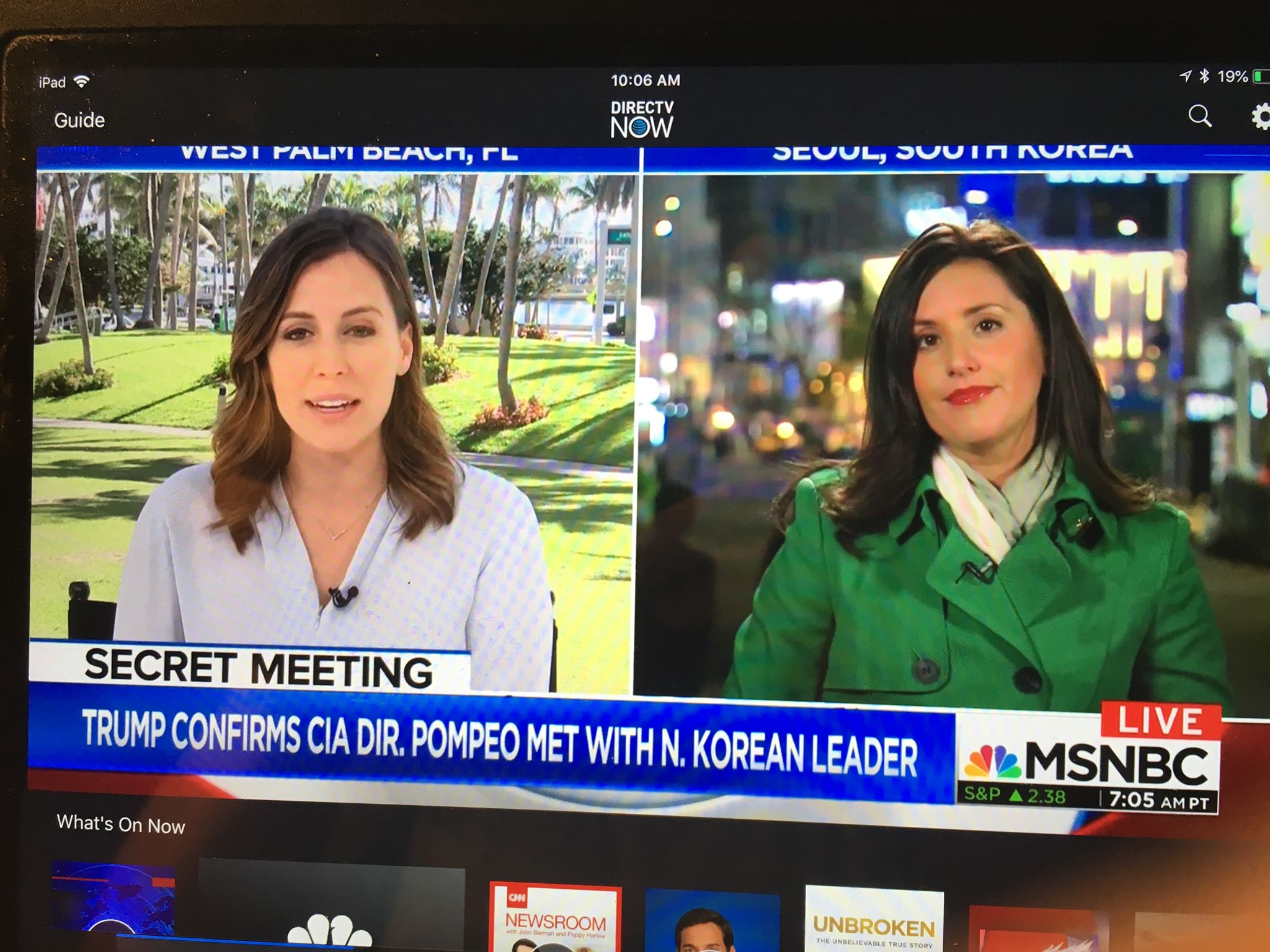 NBC's Lucy Kafanov reporting form Seoul on MSNBC with Hallie Jackson