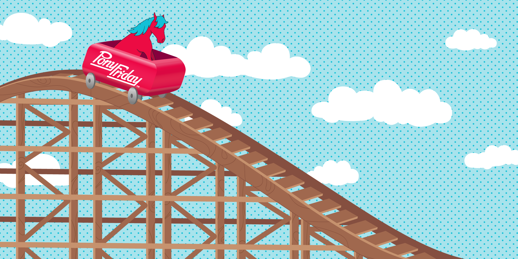 Pony-Friday-Roller-Coaster-Spring-Pony-Cart-Wood-Sky-Clouds-Fun-Happy-Joyride-Kicks-Blog-Header.png