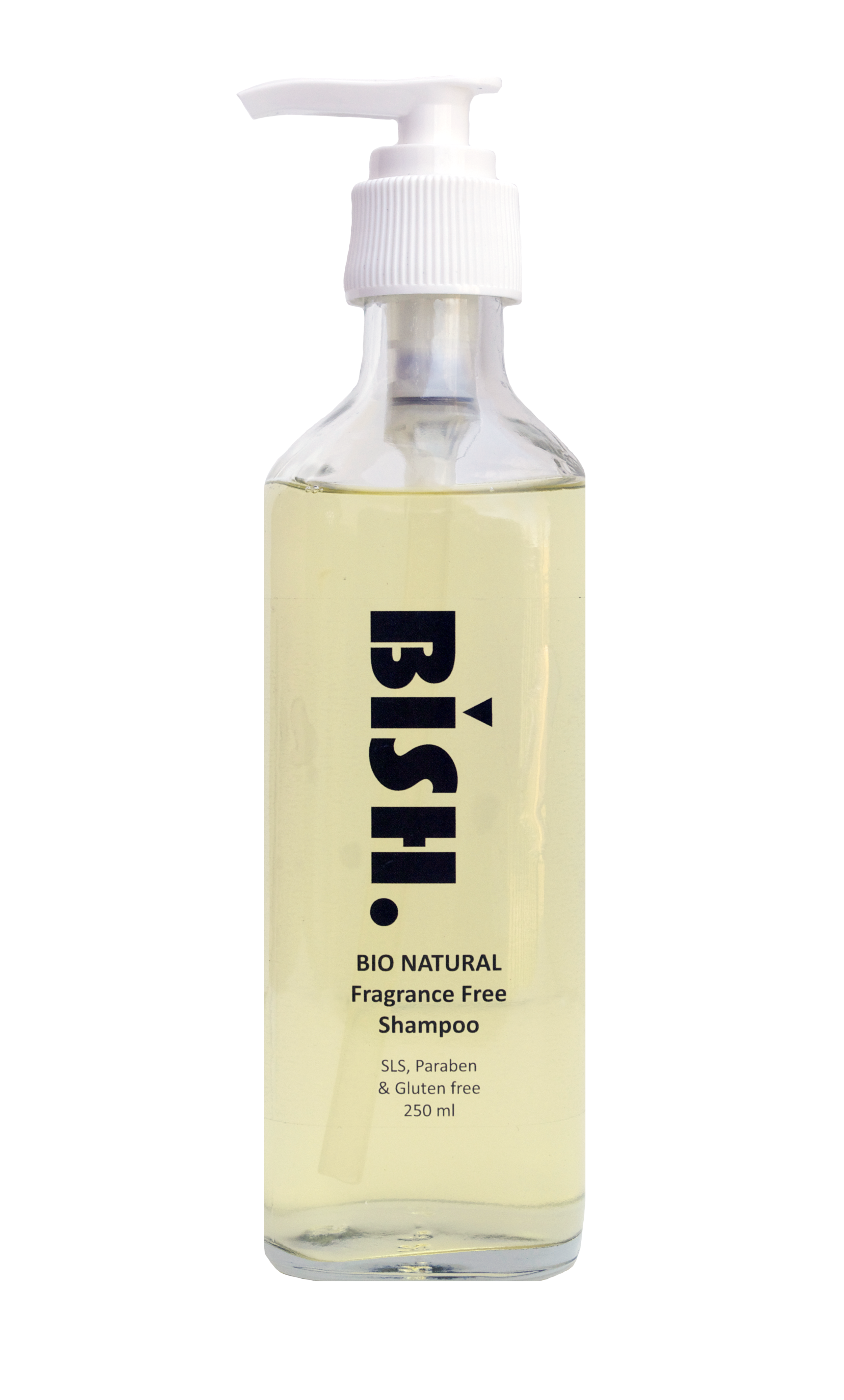 Fragrance Free Shampoo - Glass (Contact Kevan Bish for the shipping of glass containers.)