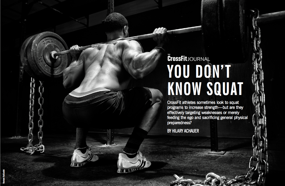 Copy of You Don't Know Squat