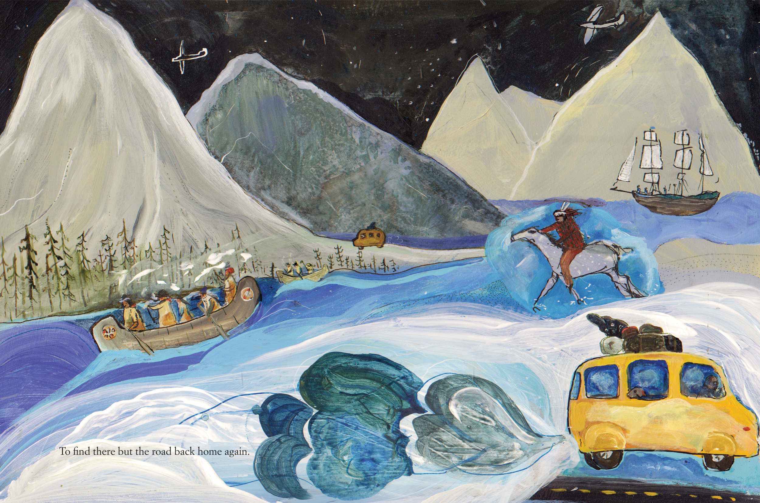 Northwest Passage Written by Stan Rogers, Illustrated by Matt James